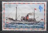 Poštovní známka Falklandské ostrovy 1978 Poštovní loď Fleurus Mi# 260 I