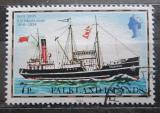 Poštovní známka Falklandské ostrovy 1982 Poštovní loď Falkland Mi# 261 II