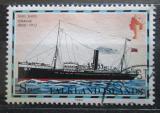 Poštovní známka Falklandské ostrovy 1982 Poštovní loď Oravia Mi# 262 II