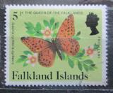 Poštovní známka Falklandské ostrovy 1984 Issoria cytheris cytheris Mi# 394