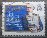 Poštovní známka Falklandské ostrovy 1985 J. Byron a lodě Mi# 433