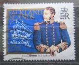 Poštovní známka Falklandské ostrovy 1985 Admirál Roy a lodě Mi# 434