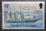 Poštovní známka Falklandské ostrovy 1991 Plachetnice Mozart Mi# 493 II