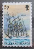 Poštovní známka Falklandské ostrovy 1989 Plachetnice Pamir Mi# 492 I