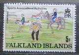 Poštovní známka Falklandské ostrovy 1989 Dětská kresba Mi# 507