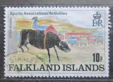 Poštovní známka Falklandské ostrovy 1989 Dětská kresba Mi# 508