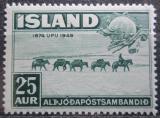 Poštovní známka Island 1949 UPU, 75. výročí Mi# 259