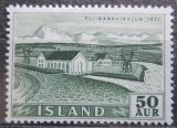 Poštovní známka Island 1956 Elektrárna Mi# 304