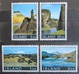 Poštovní známky Island 1970 Krajina na Islandu Mi# 434-37