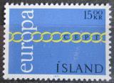 Poštovní známka Island 1971 Evropa CEPT Mi# 452