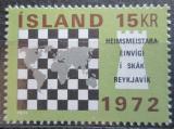 Poštovní známka Island 1972 MS v šachu Mi# 464