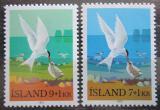 Poštovní známky Island 1972 Rybák dlouhoocasý Mi# 469-70
