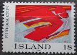 Poštovní známka Island 1975 Evropa CEPT, umění Mi# 502