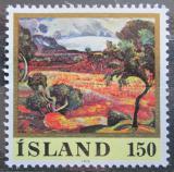 Poštovní známka Island 1976 Umění, Asgrimur Jonsson Mi# 513
