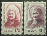 Poštovní známky Island 1979 Osobnosti Mi# 541-42