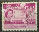Poštovní známka Mauricius 1953 Továrna na zpracování cukru Mi# 245