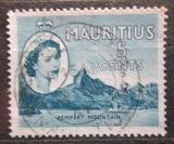 Poštovní známka Mauricius 1954 Rempart Mountain Mi# 246