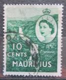 Poštovní známka Mauricius 1953 Vodopády Tamarinden Mi# 247