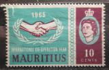 Poštovní známka Mauricius 1965 Spolupráce v OSN Mi# 285