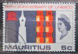 Poštovní známka Mauricius 1966 UNESCO, 20. výročí Mi# 291