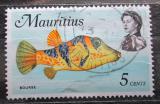 Poštovní známka Mauricius 1969 Canthigaster valentini Mi# 334
