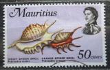Poštovní známka Mauricius 1969 Mušle Mi# 342