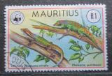 Poštovní známka Mauricius 1978 Felsumy, WWF Mi# 464