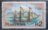 Poštovní známka Mauricius 1980 Fregata La Boudeuse Mi# 496