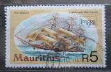 Poštovní známka Mauricius 1980 Plachetnice Sea Breeze Mi# 497