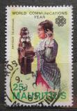 Poštovní známka Mauricius 1983 Telefonující žena Mi# 558