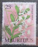 Poštovní známka Mauricius 1986 Orchidej Mi# 634