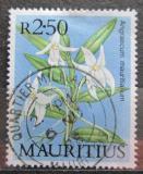 Poštovní známka Mauricius 1986 Orchidej Mi# 636