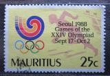 Poštovní známka Mauricius 1988 LOH Soul Mi# 674