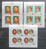 Poštovní známky Aitutaki 1981 Královská svatba přetisk Mi# 409-11 Bogen Kat 36€
