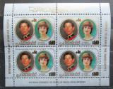 Poštovní známky Aitutaki 1981 Diana a Charles přetisk Mi# 411 Bogen Kat 16€