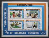 Poštovní známky Uganda 1981 Mezinárodní rok postižených Mi# Block 31