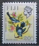 Poštovní známka Fidži 1971 Lejskovec šedý Mi# 285 X