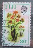 Poštovní známka Fidži 1972 Dendrobium gordonii Mi# 287 X