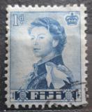 Poštovní známka Fidži 1964 Královna Alžběta II. Mi# 154 Kat 4.80€