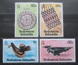 Poštovní známky Šalamounovy ostrovy 1979 Rukodělné umění Mi# 373-76