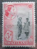 Poštovní známka Svazijsko 1956 Mladý pár Mi# 58