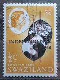Poštovní známka Svazijsko 1968 Nezávislost Mi# 139 X