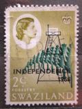Poštovní známka Svazijsko 1968 Nezávislost Mi# 141 X