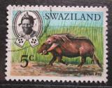 Poštovní známka Svazijsko 1968 Štětkoun africký Mi# 165