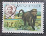 Poštovní známka Svazijsko 1968 Pavián Mi# 167