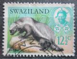 Poštovní známka Svazijsko 1968 Medojed kapský Mi# 168