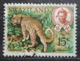 Poštovní známka Svazijsko 1968 Levhart skvrnitý Mi# 169