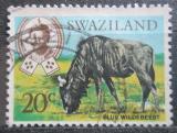 Poštovní známka Svazijsko 1968 Pakůň žíhaný Mi# 170
