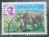 Poštovní známka Svazijsko 1968 Nosorožec tuponosý Mi# 171