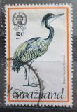 Poštovní známka Svazijsko 1976 Volavka africká Mi# 238